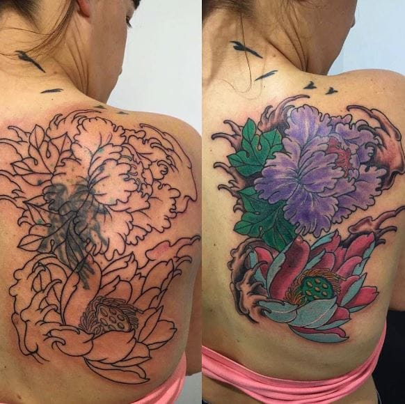 50 Beautiful Cover Up Tattoos For Men and Women (2017)
