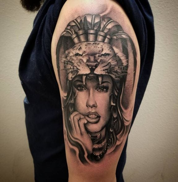 50 Best Aztec Tattoos For Girls 2019 Symbols With Meanings