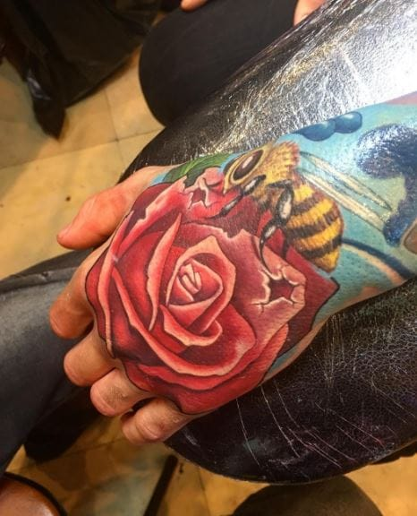 50 Best Hand Tattoos For Men 2019 Cool Simple Tattoo Ideas