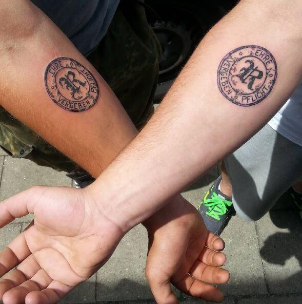 175+ Best Brother Tattoos (2019) Matching Symbols, Memorial ...
