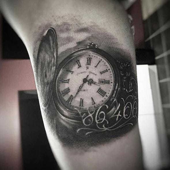 50 Evergreen Pocket Watch Tattoos Ideas And Designs 2019
