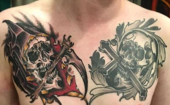 Top 51 Best Chest Tattoos For Men (2018)