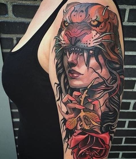 175 American Traditional Tattoos Designs With Meanings 2019