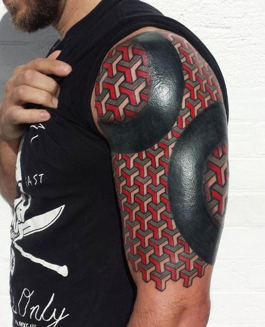 Best Black Tattoo Sleeve Mens: 50 Incredible Half Sleeve Tattoos For Men And Women (2018