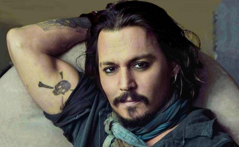 a83cbd99731f9 Complete List of Johnny Depp Tattoos With Meaning | Tattoo Ideas
