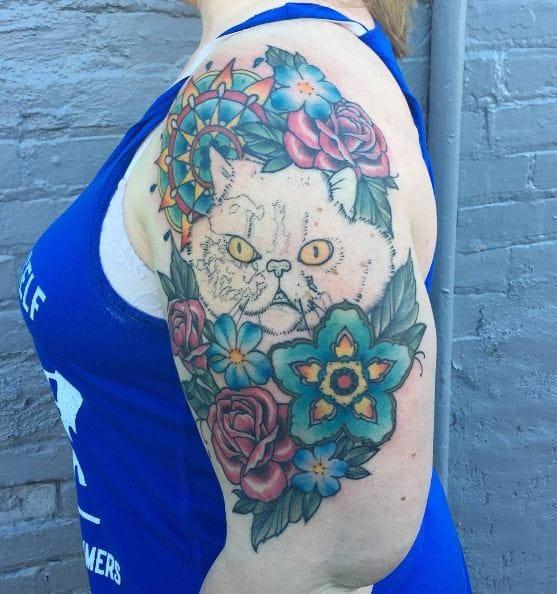 6e9d95cfc 50+ Cool Quarter Sleeve Tattoos For Women (2019) | Tattoo Ideas