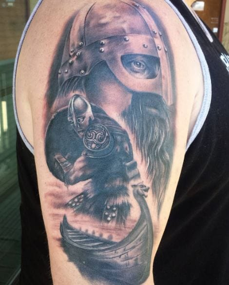 60 Traditional Norse Tattoos For Men 2019 Mythology