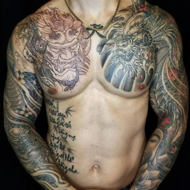130 Traditional Japanese Tattoos Sleeve For Men 2019