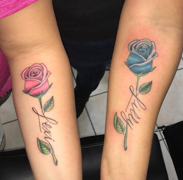 35ae6f754 50+ Matching Tattoos For Best Friends, Family (2019) | Tattoo Ideas