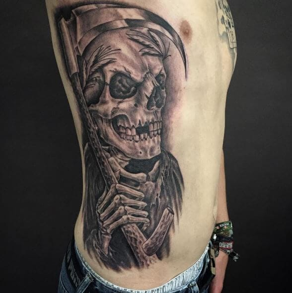 50 Traditional Grim Reaper Tattoo Designs With Meaning 2019
