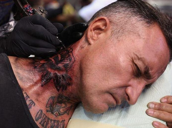 The 10 most painful places to get a tattoo 2018 for Places to get a tattoo