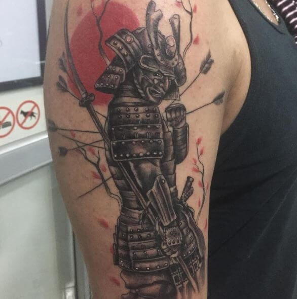 a3a8e7c9d78cd 100+ Japanese Samurai Tattoos Designs For Men (2019) | Tattoo Ideas