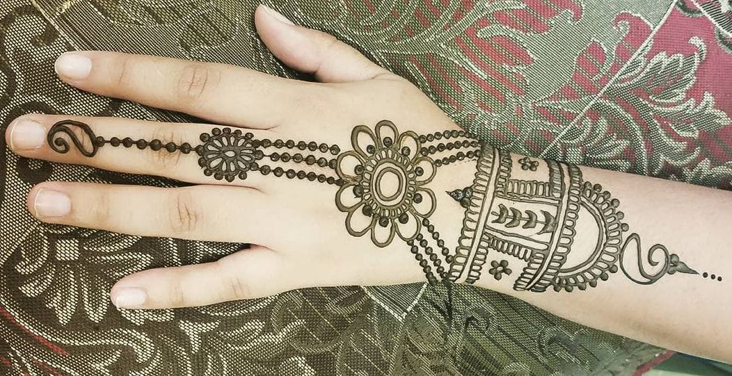 Easy Henna Designs For Kids: 300+ Easy Henna Designs For Beginners On Hands (2019