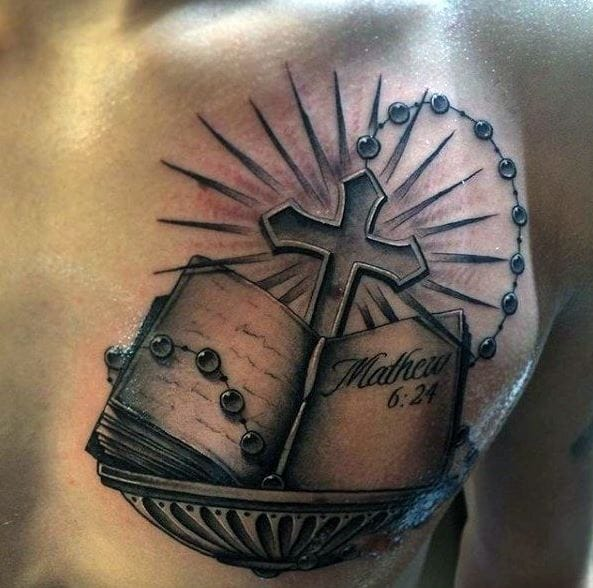 50 Inspirational Tattoo Quotes For Men To Try 2018: 50+ Best Bible Verse Tattoos For Men & Women (2019)