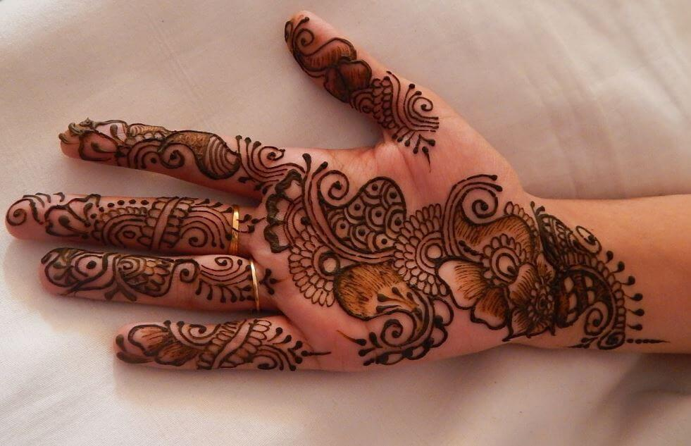 226676f80762a 100+ Latest Mehndi Designs For Hands (Simple & Easy 2019) | Tattoo Ideas