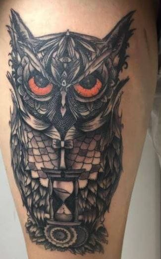 110 Cute Owl Tattoos For Men 2019 Mystic Designs Ideas Tattoo