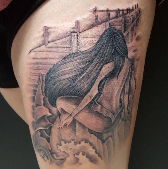 Mermaid Tattoo On Arm 11