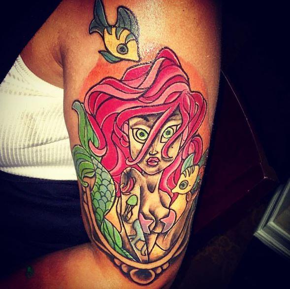 Mermaid Tattoo On Arm 26