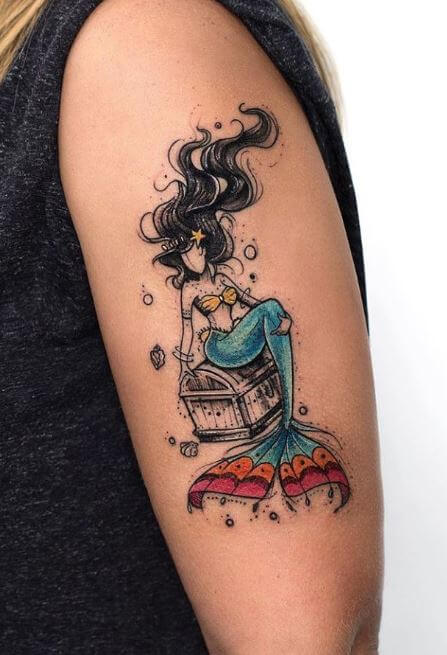 Cool Mermaid Tattoos