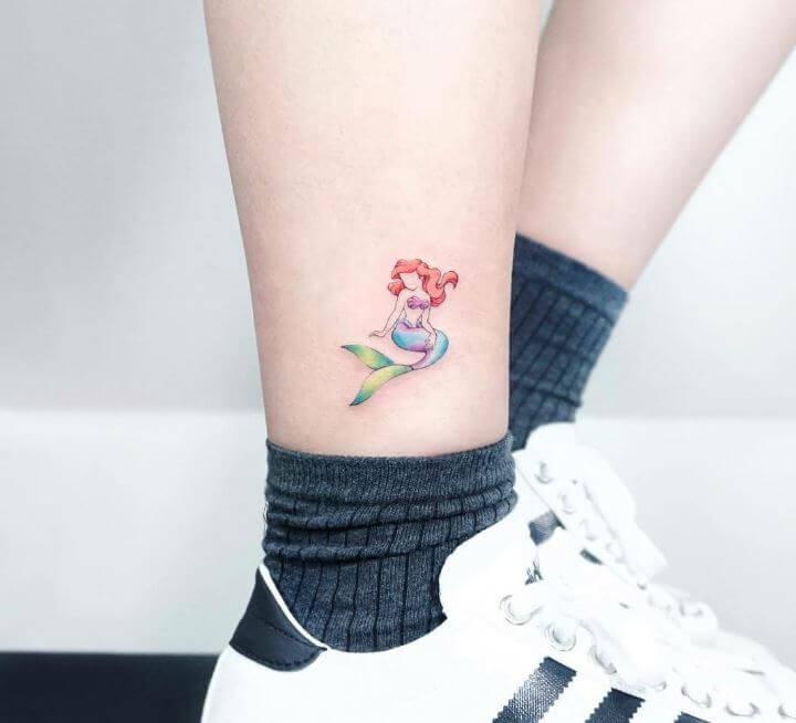 Mermaid Tattoos Small