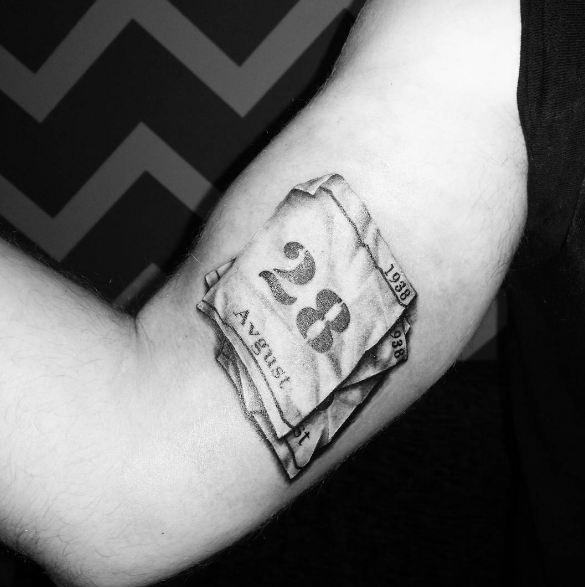 3d Date Tattoos