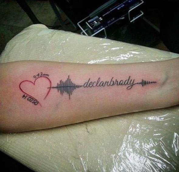 Birthday Date Tattoos