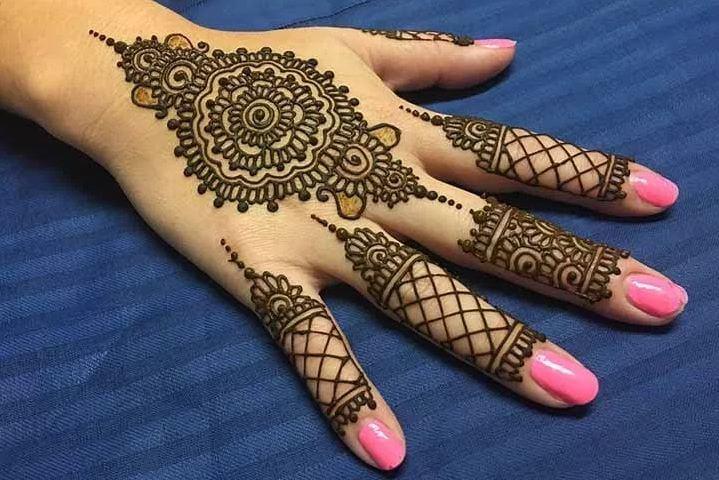 Brown Henna Tattoo