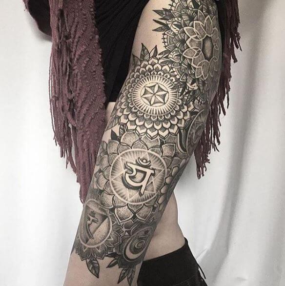 Buddhist Mandala Tattoos