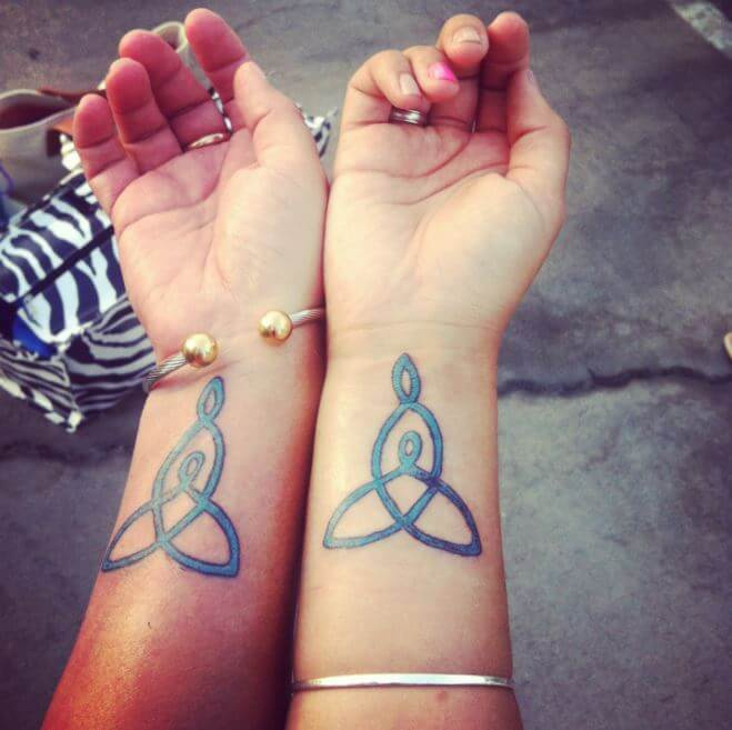 Celtic Mother Daughter Tattoos