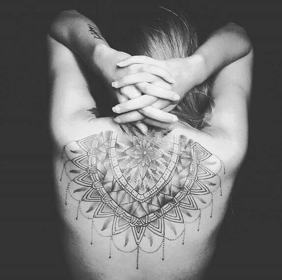 Cool Mandala Tattoos