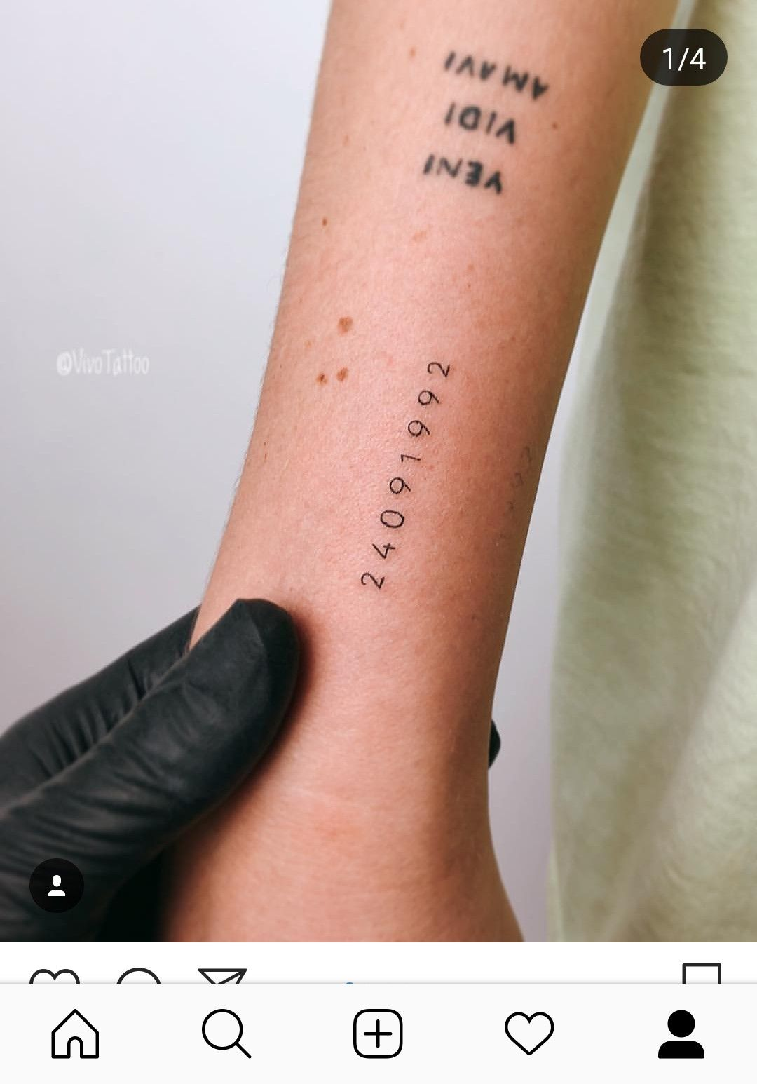 Date Of Birth In Roman Numerals Tattoo (102)