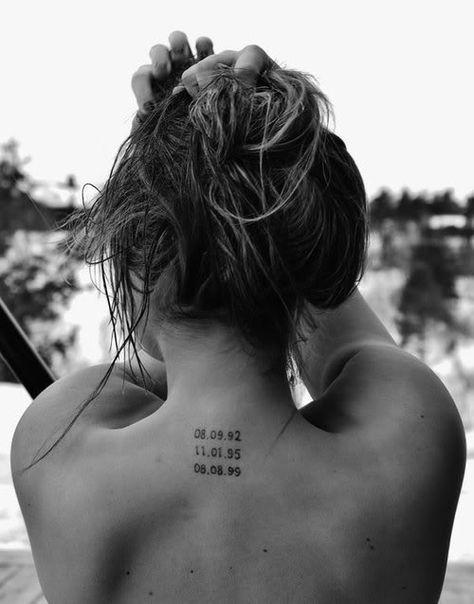 Date Of Birth In Roman Numerals Tattoo (71)