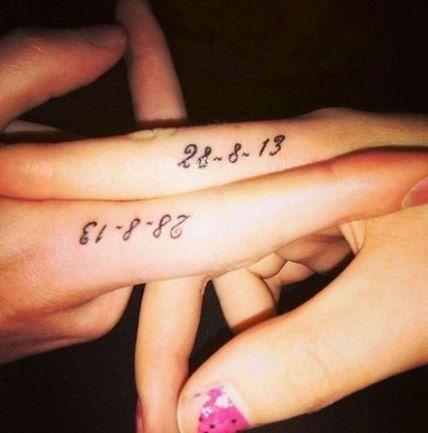 Date Of Birth In Roman Numerals Tattoo (8)