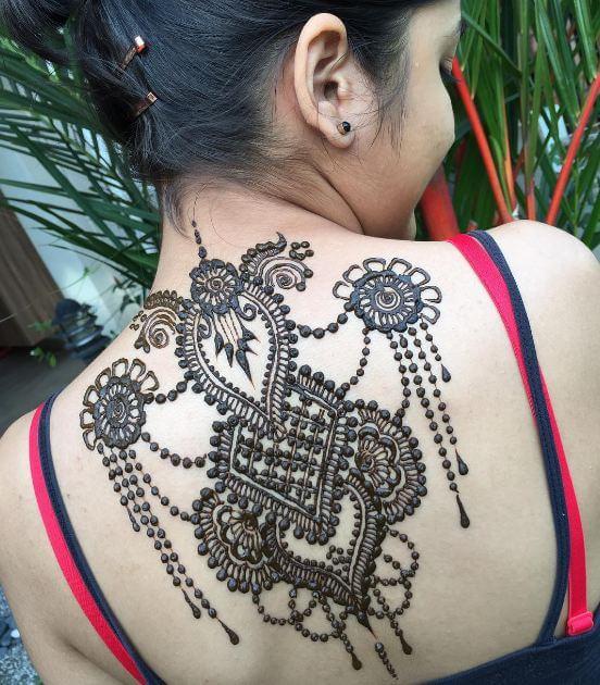 Girly Henna Tattoos