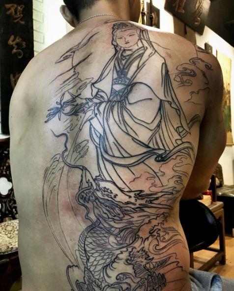 Guanyin Chinese Tattoos