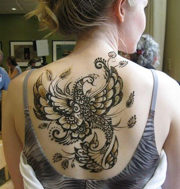 Henna Tattoo Phoenix