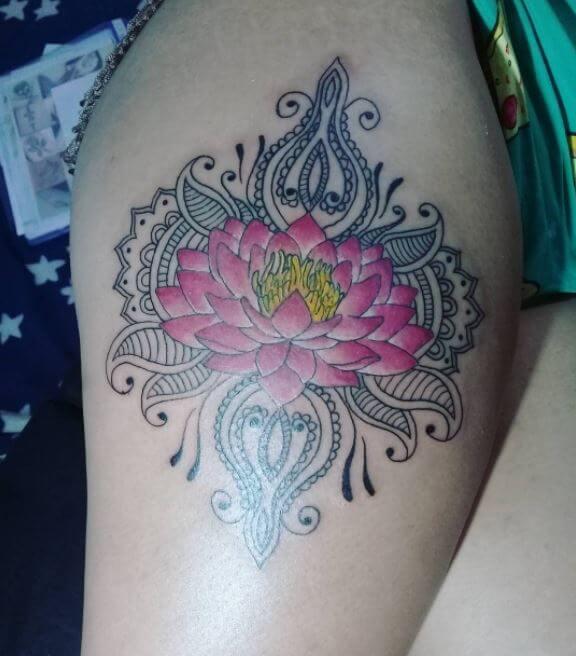 Lace Mandala Tattoo