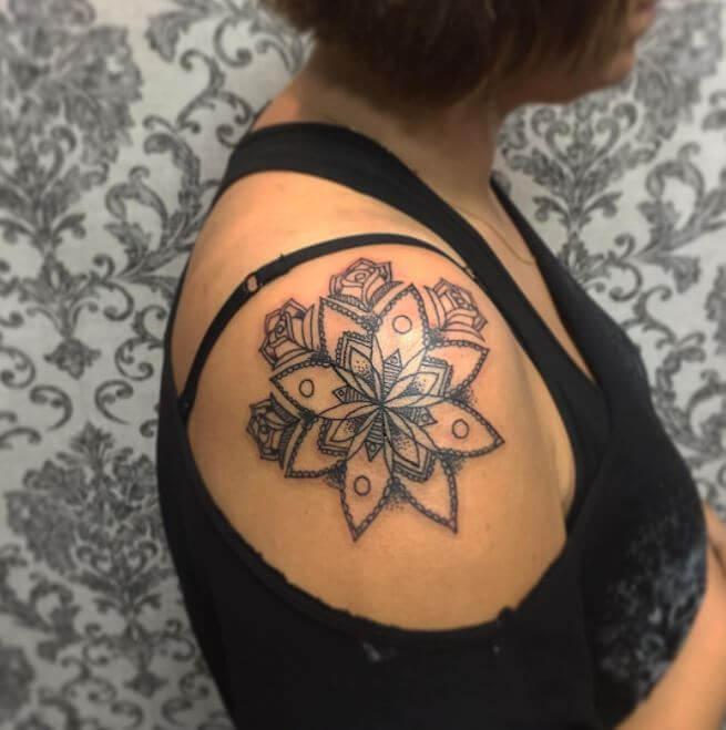 Mandala Chandelier Tattoo
