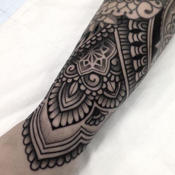 Mandala Cover Up Tattoos