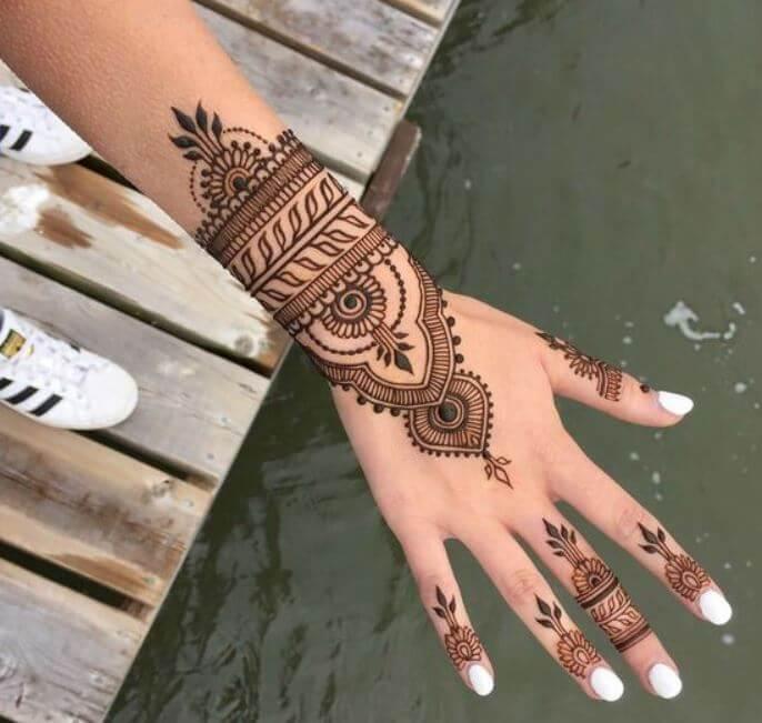 Mandala Henna Tattoos
