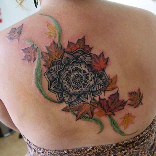 Mandala Lace Tattoo