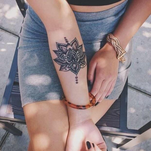 Mandala Tree Tattoo (1)