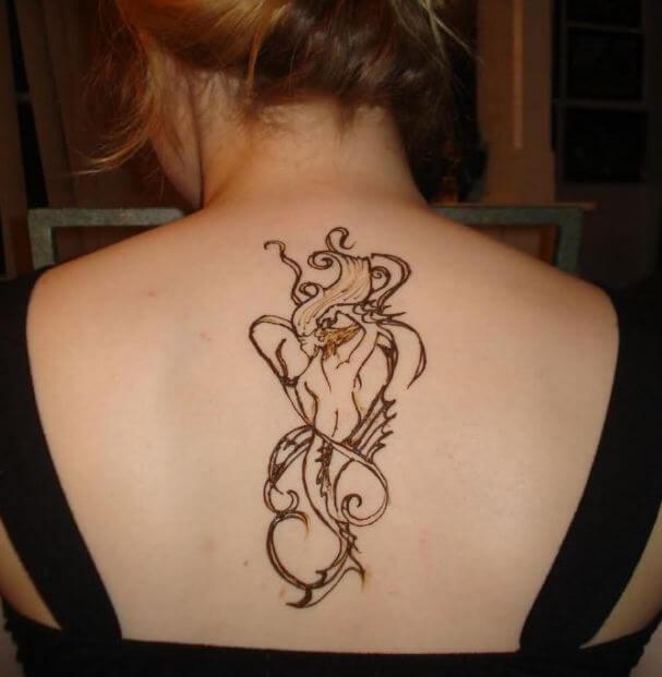 Mermaid Henna Tattoos