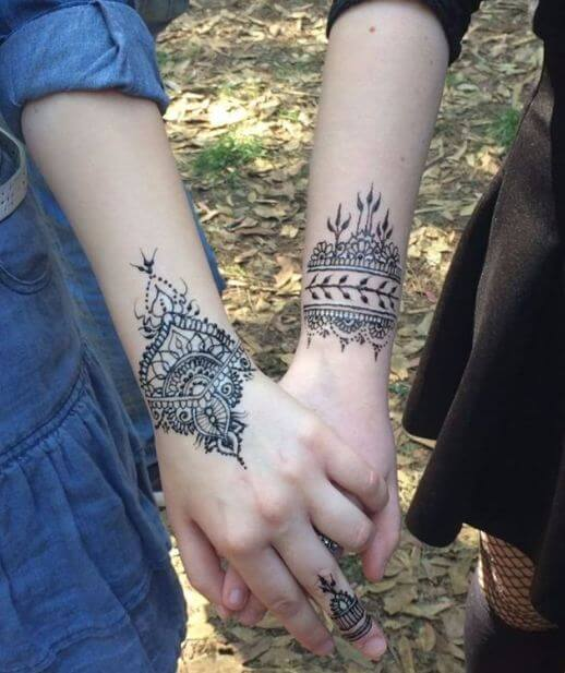 Mother Daughter Sister Tattoos