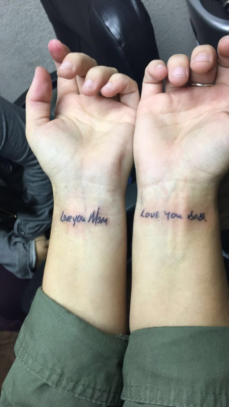 Mother Daughter Son Tattoo (11)