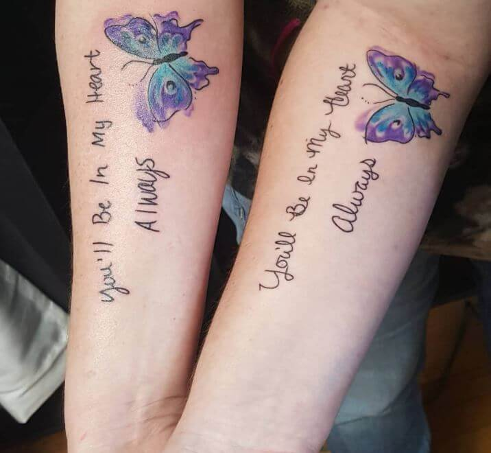 Mother Daughter Tattoo Sayings