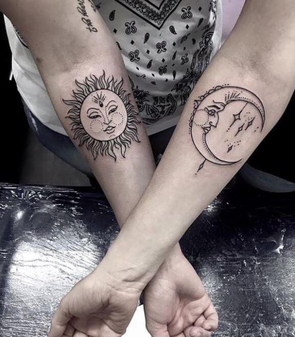 Mother Daughter Tattoos On Forearm