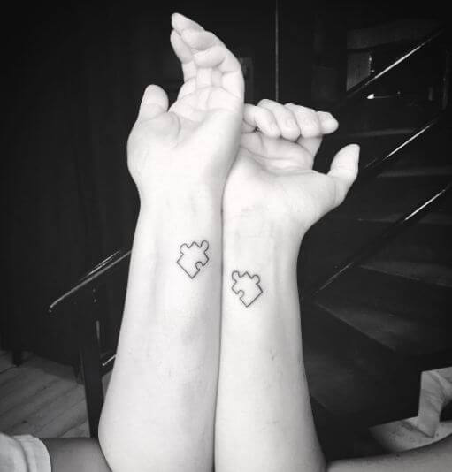 Mother Daughter Tattoos Small
