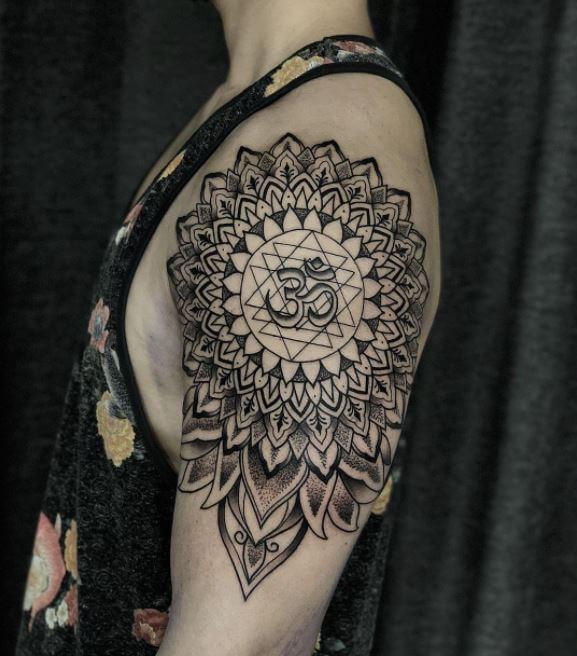 Om Mandala Tattoo
