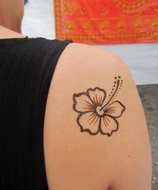 Simple Henna Tattoo
